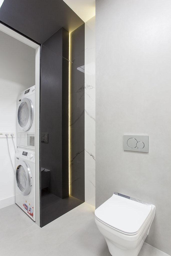 łazienka z pralnią